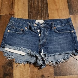 27 We the Free Free People Frayed Shorts